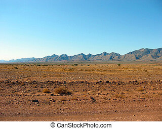 Outback Mountains - A view of the vast Flinders Ranges from...
