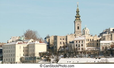 Belgrade, Serbia - Belgrade, Orthodox Church, buildings