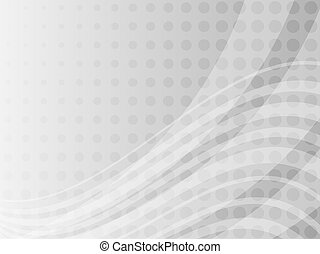 Abstract grayscale background - Abstract grayscale dots and...