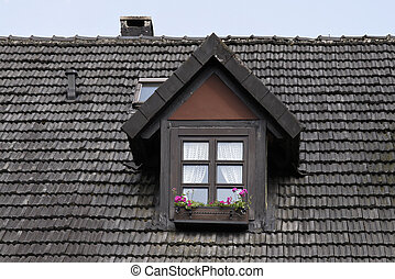 Dormer window in Germany