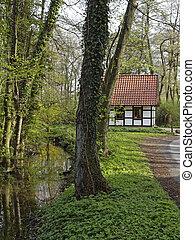 Gellenbeck mill in Hagen, Germany