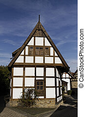 Timbered house in Lower Saxony - Schledehausen, Timbered...