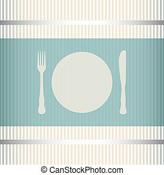 Menu background - Restaurant menu background with stripes...