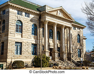Dekalb County Courthouse - An old classic granite courthouse...