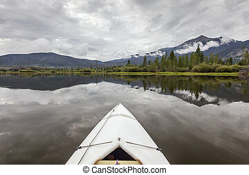 kayak on Lake Dillon