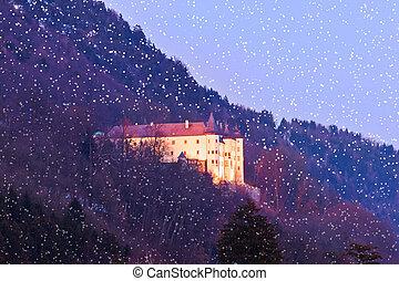 Tratzberg Castle - Tyrol Austria - Tratzberg Castle in Tirol...