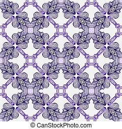 luxury pattern with elegant Spanish motifs - luxury vector...