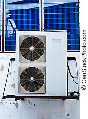 Air Condenser - Air conditioner condenser unit to supply the...