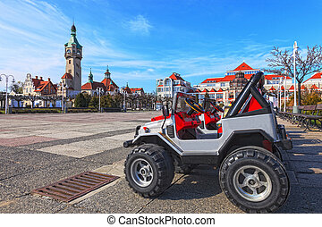 Sopot - City of Sopot vision through the eyes of a child,...
