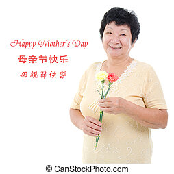 Happy mother's day concept.