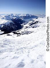 French Alps - Ski resort in French Alps