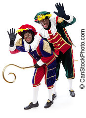 zwarte piet (black pete) - Zwarte piet ( black pete) typical...