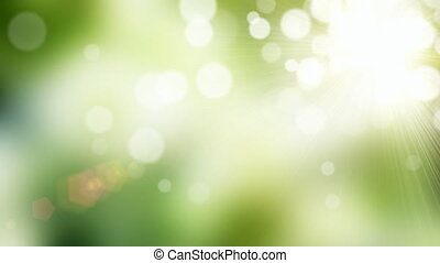 Green background - Natural green motion background (seamless...