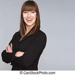 Professional Business Woman - Portrait a professional...