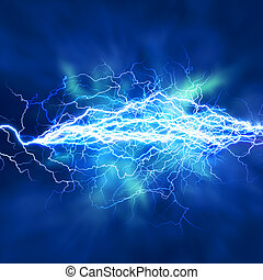Electric lighting effect, abstract techno backgrounds for...