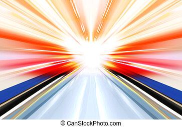 technology light effect
