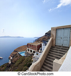 Fira, Santorini - image from Fira, Santorini.