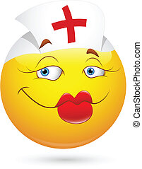 Sexy Nurse Smiley Face