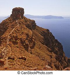 Skaros on santorini 02 - An image from Santorini overlooking...
