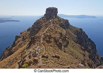 Skaros on santorini 01 - An image from Santorini overlooking...