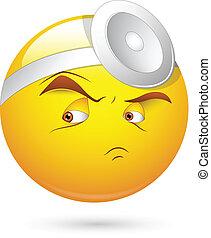 Surgeon Doctor Smiley Face - Creative Conceptual Artistic...