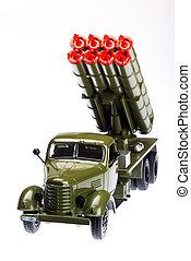 Multiple rocket launcher 4 - Multiple rocket launcher