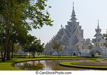 White temple in Chiang Mai