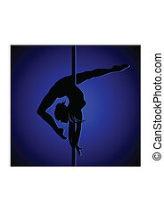 Dancer - Flexible dancing girl