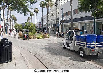 The Promenade in Santa Monica California