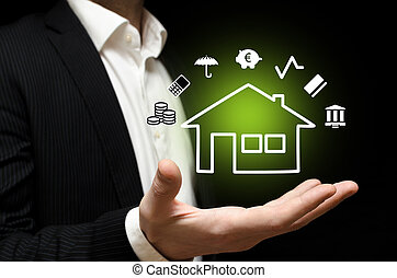 Real estate - Building a environmental home with finance and...