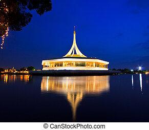 Public park, Suanluang Rama 9, Thailand