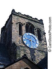 Rural church clock tower England - Rural church clock tower...