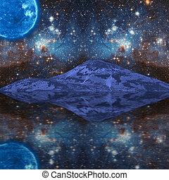 extraterrestre, fantasía