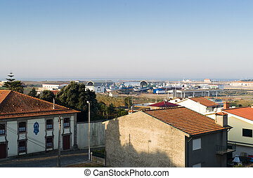 View on Vila do Conde - Vila do Conde is a city in the...