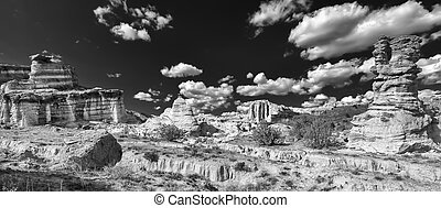 """The """"White Place"""" - Remote area of northern New Mexico with..."""