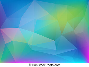 abstract polygonal colorful light, corporate background, web...