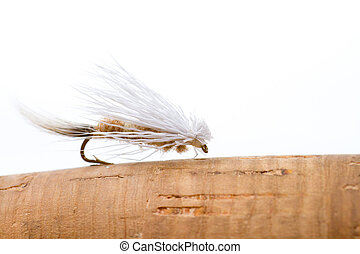 Fly Fishing Dry Fly Caddis - This caddis imitation is made...