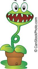 Mascot Venus Flytrap