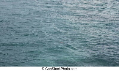 Ocean Background 1 - surface of the ocean from a the...