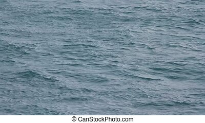 Ocean Background 2 - surface of the ocean from a the...