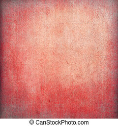 Red grunge paper background with copy space