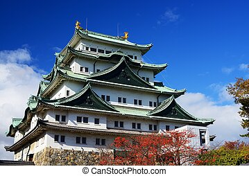Nagoya Castle dating from 1610 November 27, 2012
