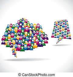 online marketing strategy concept stock vector
