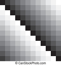Gray scale tile wall black first diagonal