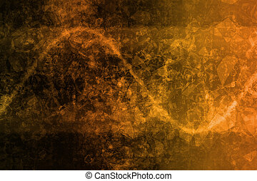 laranja, abstratos, incorporado, dados, Internet, grade