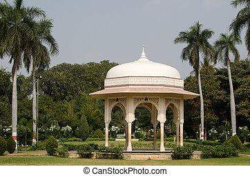 Pavilion, Public Gardens, Hyderabad - Elegant Mogul style...