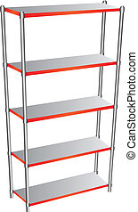 Industrial Regiment - Shelf for garage and industrial use...