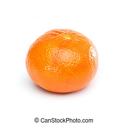 Tangerine, Mandarine or Clementine - Single fruit with...