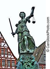 Estatua de la Fuente, Frankfurt - Estatua de la Fuente -...