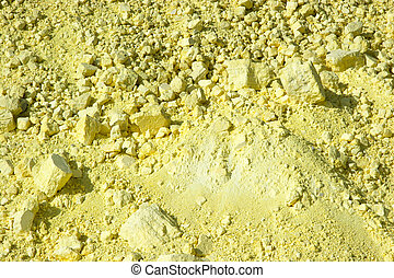 Background of Sulphur Texture - Portrait of Background of...